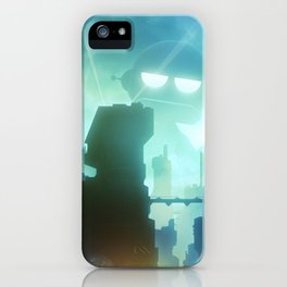 Robot Invasion iPhone Case