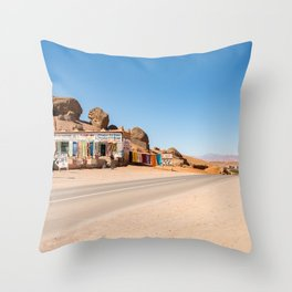 Valley of the Roses Throw Pillow