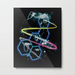 space fragmentation travel fig 4 Metal Print