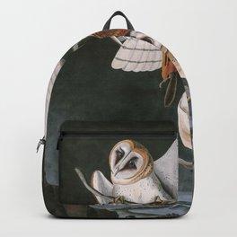 Barn Owls, the Birds of America by John James Audubon Backpack