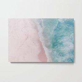 ocean walk Metal Print