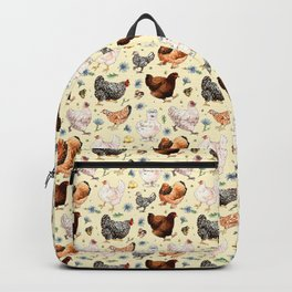 Chickens and Chicory Backpack