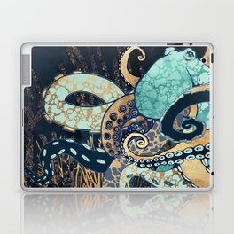 Metallic Octopus II Laptop & iPad Skin