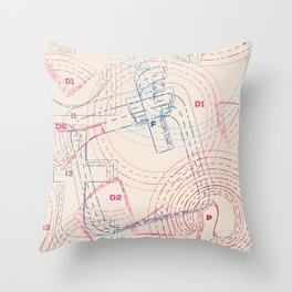 Tailor Your Social Life Throw Pillow
