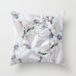 Minimal Beauty Throw Pillow