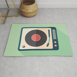 Vinyl Player Rug