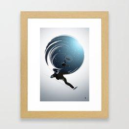 Heli Riders Framed Art Print
