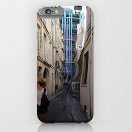 Model in Paris iPhone Case