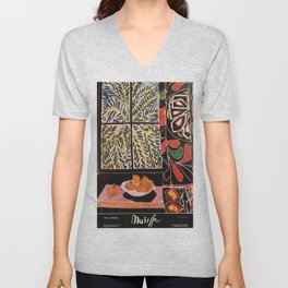 Matisse Exhibition poster 1979 Unisex V-Neck