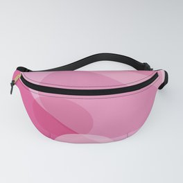 Pink Spheres Abstract Fanny Pack
