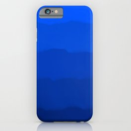 Endless Sea of Blue iPhone Case
