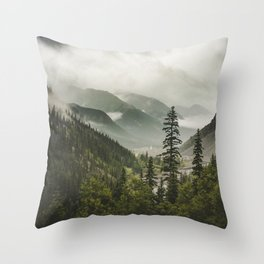 Valley of Forever Throw Pillow