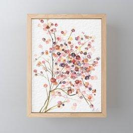 Beautiful Small Florals Framed Mini Art Print