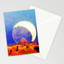 Cathedral of the Moon Stationery Cards