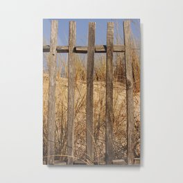 Fence to the Sky! Metal Print