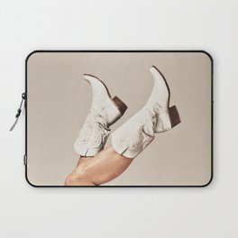 These Boots - Neutral Laptop Sleeve