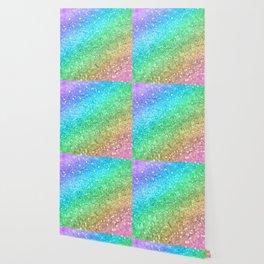 Rainbow Princess Glitter #1 (Photography) #shiny #decor #art #society6 Wallpaper
