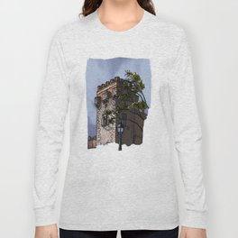 Tower of the palace (color) Long Sleeve T-shirt