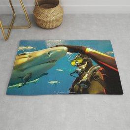 Shark Bite Diving Rug