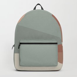 Geometric Landscape 04 Backpack