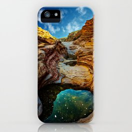 Ernst Canyon, Big Bend iPhone Case