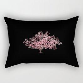 Japanese Cherry Blossom Tree Sakura Rectangular Pillow