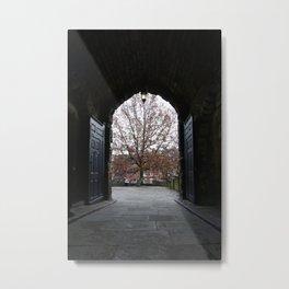 Nottingham Castle Gate Metal Print