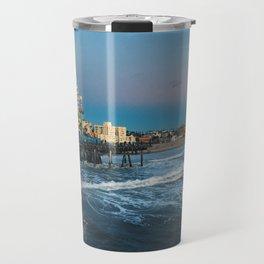 Wheel of Fortune - Santa Monica, California Travel Mug