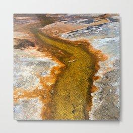 Yellowstone Streams Metal Print