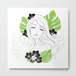 Sylvan Flora Metal Print