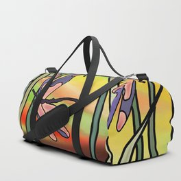 Dragonflies in the Grass Duffle Bag