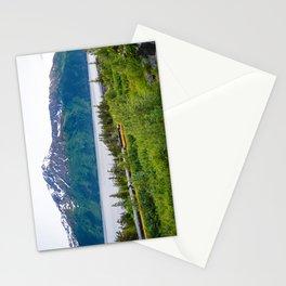Alaska Passenger Train - Bird Point Stationery Cards