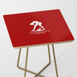 Running from Zombies Side Table