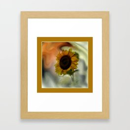 let the sun in your home Framed Art Print