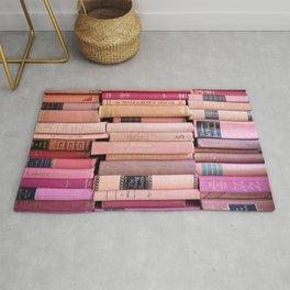 Vintage Pink Stacks Rug