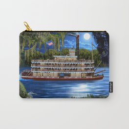 Mystcal Moonlight Cruise Down the Bayou Carry-All Pouch
