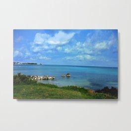 Island of Bermuda Metal Print