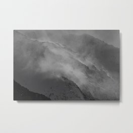 'Spin Drift' Metal Print
