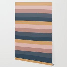 Minimal Retro Sunset - Neutral Wallpaper