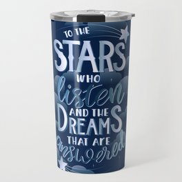 Night Court Book Quote ACOTAR Travel Mug
