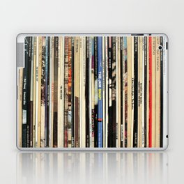 Classic Rock Vinyl Records Laptop & iPad Skin