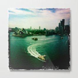 Sydney Harbour Opera House Metal Print