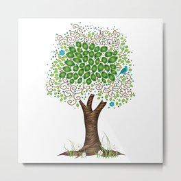 Enchanted Tree Metal Print