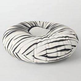 Minimal Sunrise / Sunset Floor Pillow