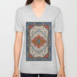 N125 - HQ Bohemian Traditional Moroccan Style Decor Artwork. Unisex V-Neck