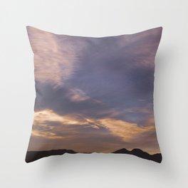 Cabo de gata Throw Pillow