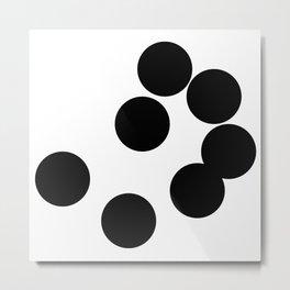 Balls Analysis Metal Print