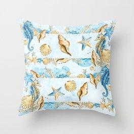 Sea & Ocean #4 Throw Pillow