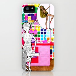 Barbie Dreams Of A More Colourful Life! Housewife Humour! iPhone Case