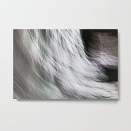 Abstract Let It Snow Metal Print